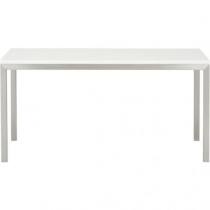 parsons-white-top-60x36-dining-table-with-stainless-steel-base